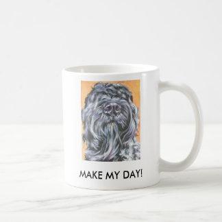 Bouvier Des Flandres mug MAKE MY DAY!
