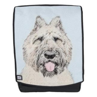 Bouvier des Flandres Painting - Original Dog Art Backpack