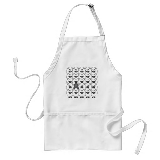 Bouvier in the Sheep Adult Apron