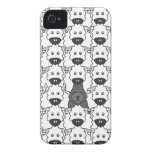 Bouvier in the Sheep iPhone 4 Case-Mate Cases