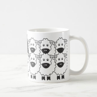 Bouvier in the Sheep Mugs