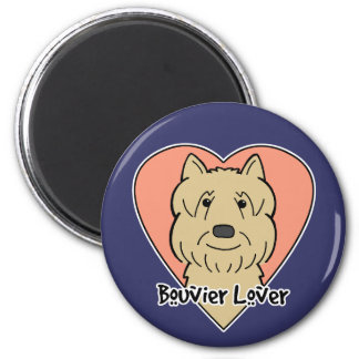 Bouvier Lover Magnet