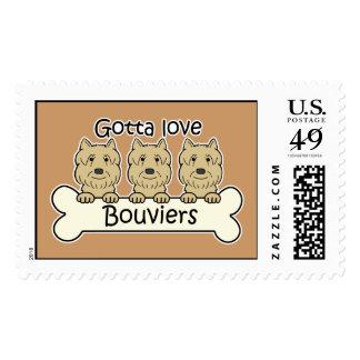Bouvier Lover Postage