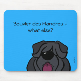Bouvier of the Flandres - does else what? Mouse Pad