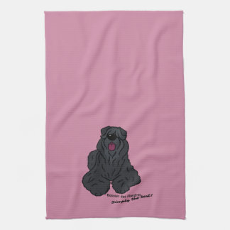 Bouvier of the Flandres - Simply the best! Hand Towel
