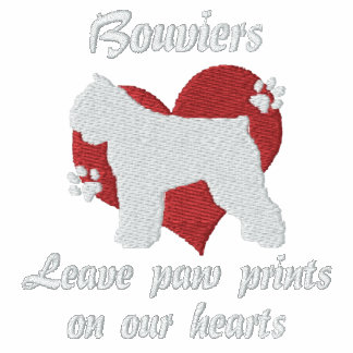 Bouviers Leave Paw Prints