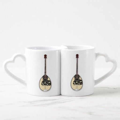Bouzouki Coffee Mug Set