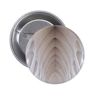 bóveda blanca del pilar del alto techo pin redondo 5 cm