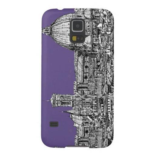 Bóveda de Florencia en lila Carcasas Para Galaxy S5