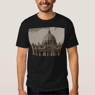 Bóveda de la basílica Roma de St Peters Camisas