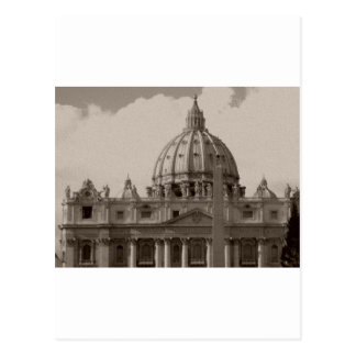 Bóveda de la basílica Roma de St Peters Postales