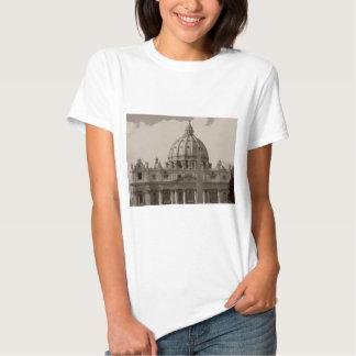 Bóveda de la basílica Roma de St Peters Remera