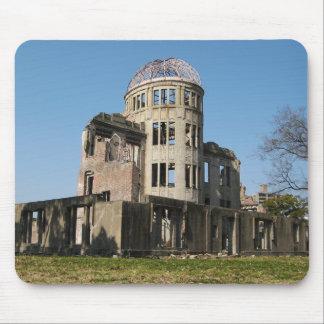 Bóveda de la bomba atómica, Hiroshima, Japón Alfombrillas De Ratón