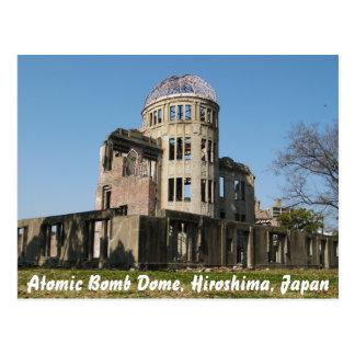 Bóveda de la bomba atómica, Hiroshima, Japón Postales