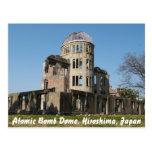 Bóveda de la bomba atómica, Hiroshima, Japón Tarjeta Postal