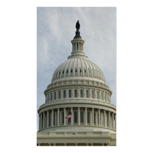 Bóveda de la capital de Estados Unidos Plantilla De Tarjeta De Visita