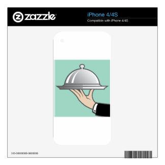 Bóveda de la comida disponible iPhone 4 skin