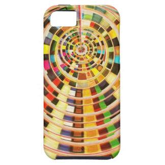 Bóveda de la energía del UFO 3D - espectro de la iPhone 5 Fundas