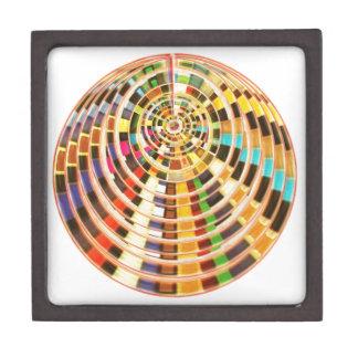 Bóveda de la energía del UFO 3D - espectro de la o Cajas De Recuerdo De Calidad