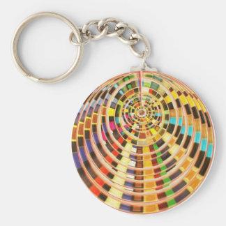 Bóveda de la energía del UFO 3D - espectro de la o Llavero Redondo Tipo Pin