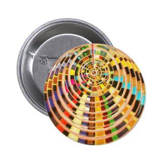Bóveda de la energía del UFO 3D - espectro de la o Pin Redondo 5 Cm