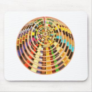 Bóveda de la energía del UFO 3D - espectro de la o Mouse Pads