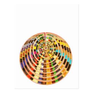 Bóveda de la energía del UFO 3D - espectro de la Postales