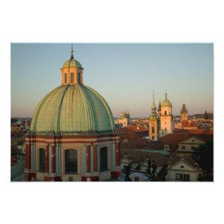Bóveda de la iglesia San Francisco, Praga, checa Impresión Fotográfica