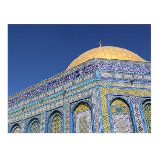Bóveda de la roca, Al Aqsa en la puesta del sol, Postal