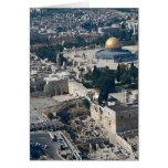 Bóveda de la roca, ciudad vieja Jerusalén, Israel Felicitaciones