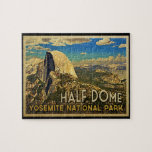 Bóveda de Yosemite del vintage media Puzzles Con Fotos