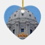 Bóveda del capitolio de Minnesota Adorno De Navidad