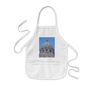 Bóveda del capitolio de Minnesota Delantal Infantil