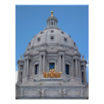Bóveda del capitolio de Minnesota Posters