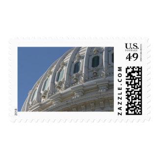 Bóveda del edificio del capitolio de los E.E.U.U. Franqueo