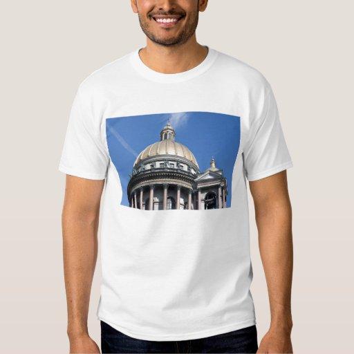 Bóveda del edificio en Rusia Remeras