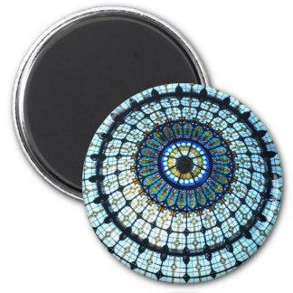 Bóveda del vitral imán redondo 5 cm