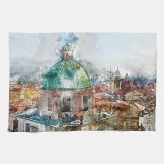 Bóveda en la República Checa de Praga Toalla De Mano