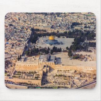 Bóveda vieja de Jerusalén de la ciudad de la Alfombrilla De Ratón