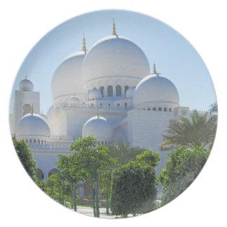 Bóvedas de jeque Zayed Grand Mosque Platos