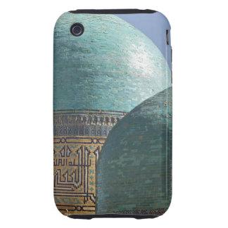 Bóvedas de la turquesa, mausoleo de Shahr i Tough iPhone 3 Carcasa