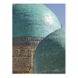 Bóvedas de la turquesa, mausoleo de Shahr i Zindah Tarjeta Postal