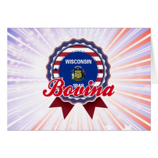 Bovina, WI Greeting Card
