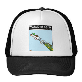 Bovine Cannonball Trucker Hat