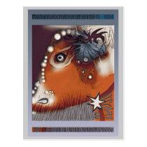 Bovine vision postcard