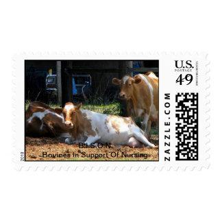 Bovines In Support of Nursing Stamps