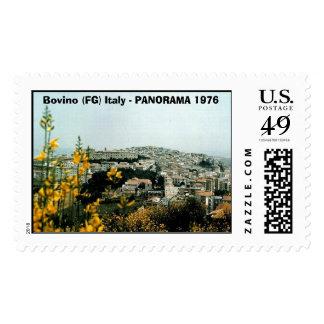 Bovino 1976 01 , Bovino (FG) Italy - PANORAMA 1976 Stamps