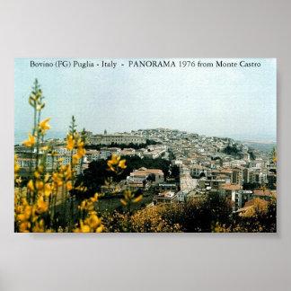 Bovino (FG) Panorama 1976 Poster