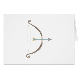 Bow and Arrow Greeting Cards