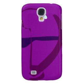 Bow and Arrow Purple Galaxy S4 Case
